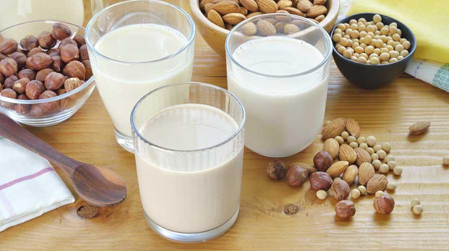 Alternative al latte frutta secca