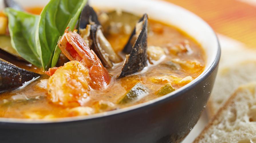 ricetta brodo di pesce