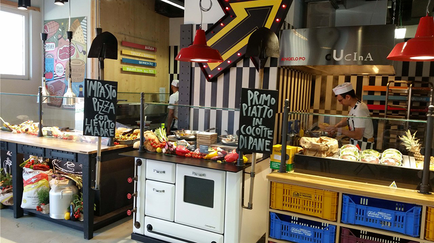 mangiare ad Expo, Viavai