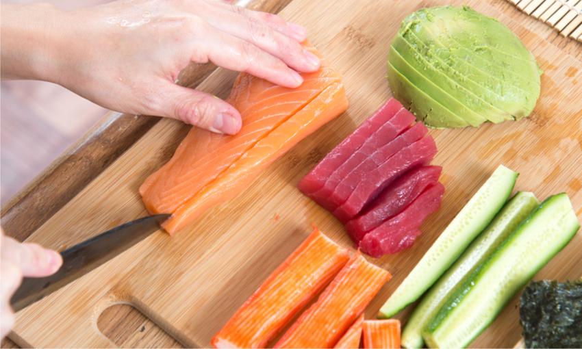 sushi pesce