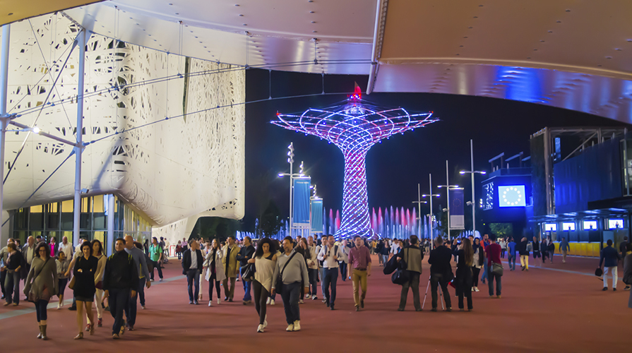 Apertura Expo 2015