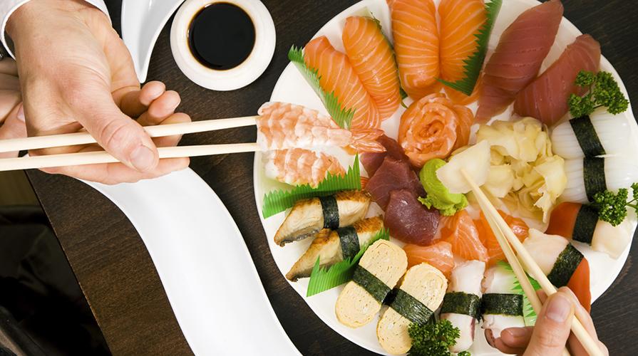 Il galateo del sushi