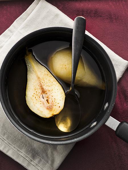 Cottura della pera