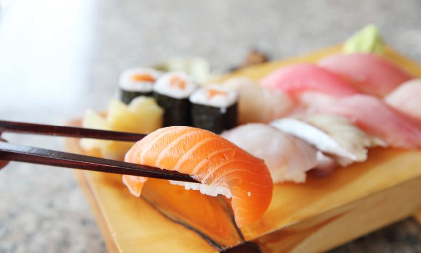 come mangiare il sushi