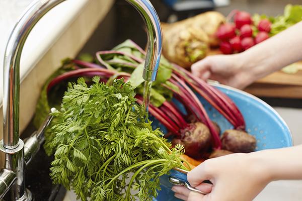Lavare le verdure