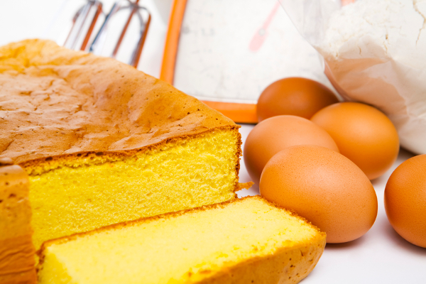 Ingredienti per Pan di Spagna