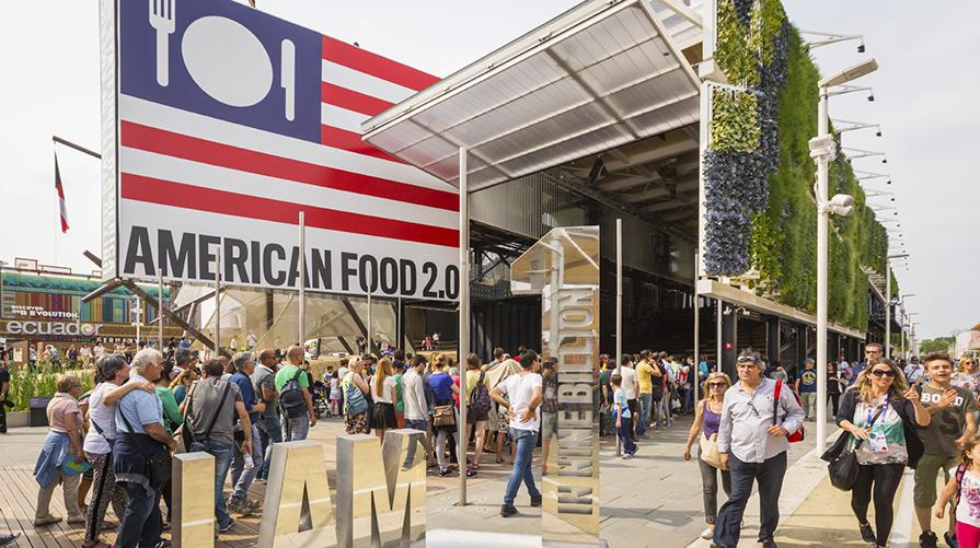 Expo Padiglione Usa