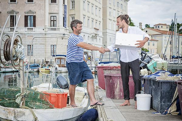 acquistare pesce fresco