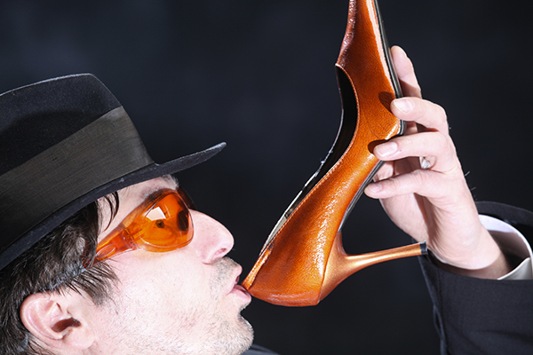 Bere dalla scarpa