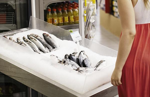 Congelare il pesce