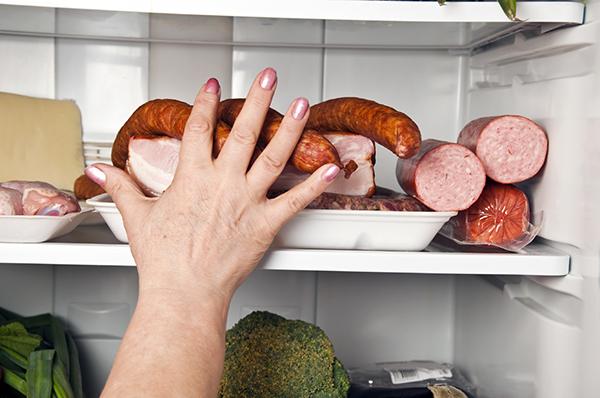 Conservare la carne in frigo