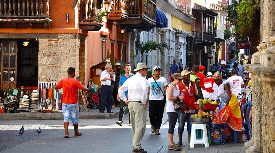 Itinerario gastronomico Colombia