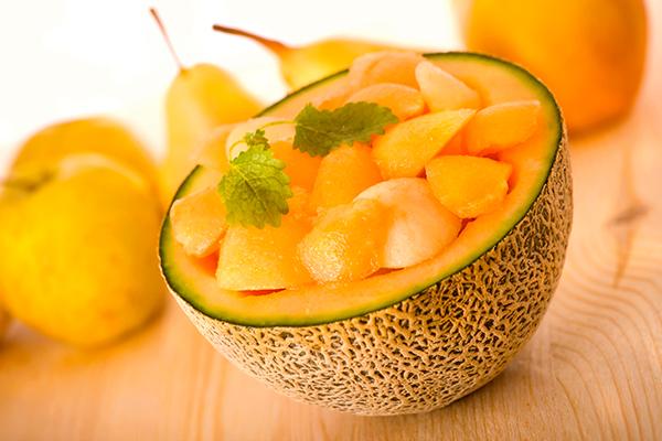 Zuppa fredda di melone