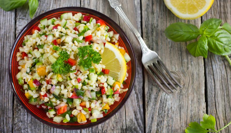 Bulgur e Quinoa