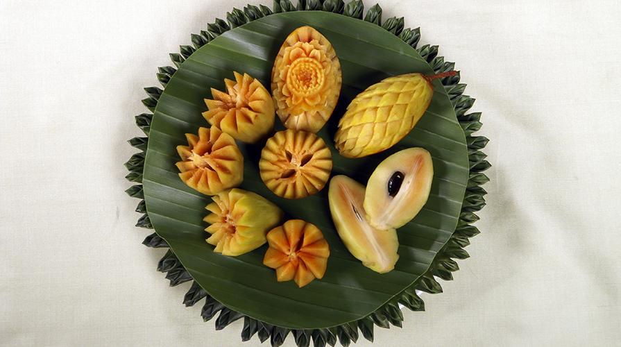 intaglio di frutta