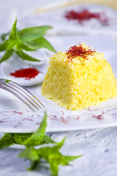 Origine del risotto alla milanese