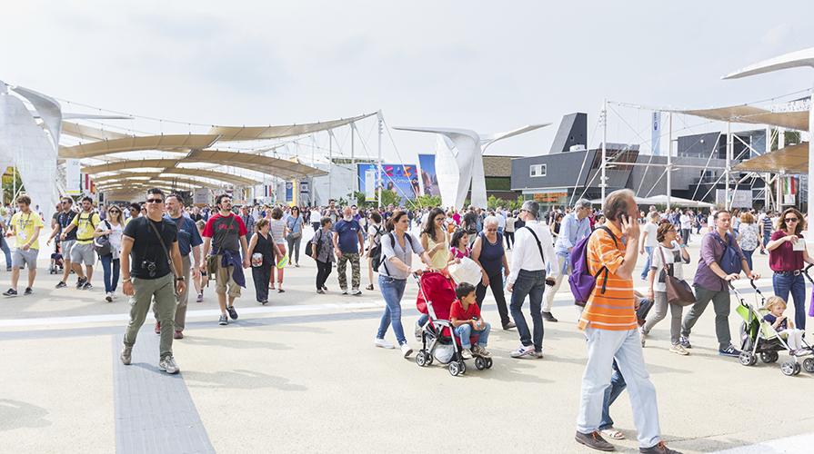 Expo visitatori