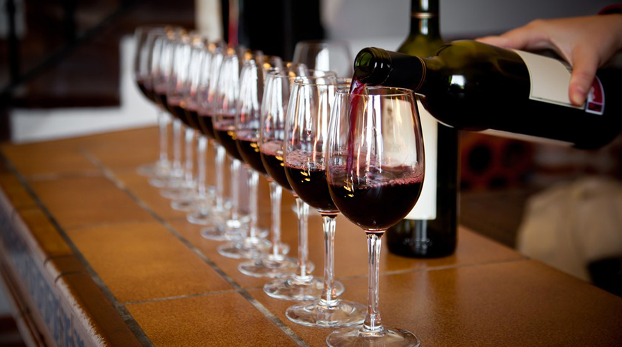 Degustazioni vino ottobre 2015