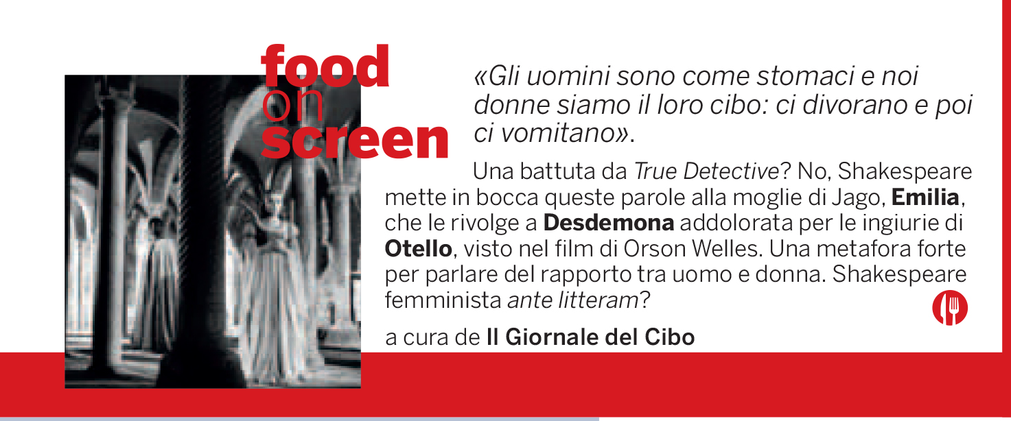 Food on Screen 3 settembre