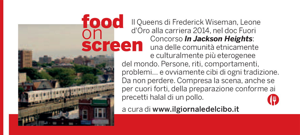 Food on screen 5 settembre