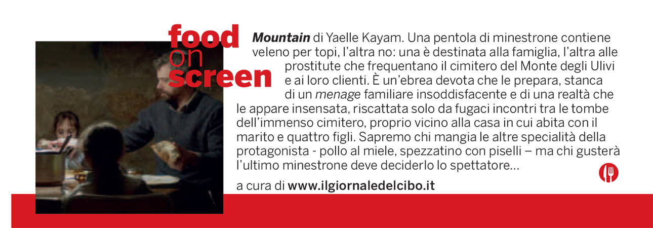 Food on screen 7 settembre
