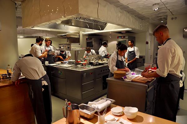 Staff del ristorante Nerua