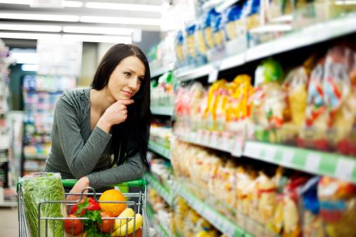 Scelta prodotti supermercati