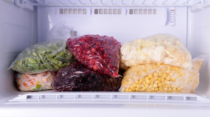 Alimenti nel congelatore
