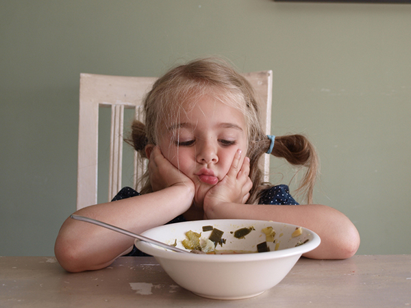 Bambini cibo sano