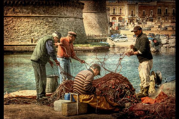 Pescatori salentini