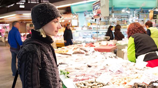 Etichettatura prodotti ittici