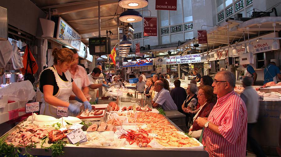 Mercato pesce