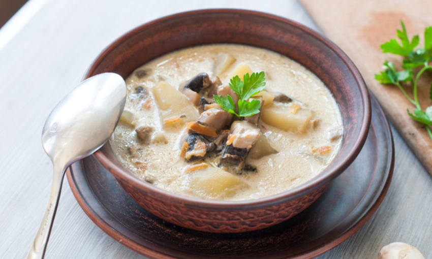 zuppa funghi