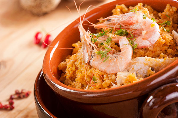Couscous frutti di mare