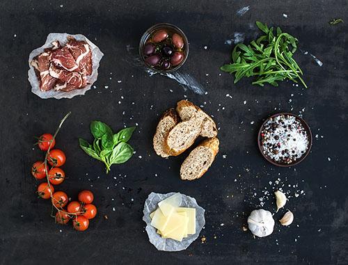 Robot Chef ingredienti