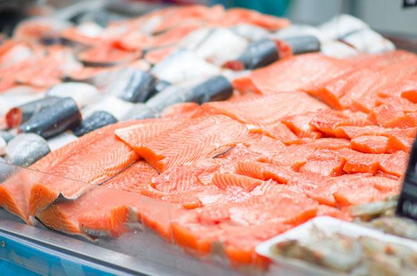 Salmone supermercato