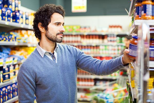 Supermercato Etichetta