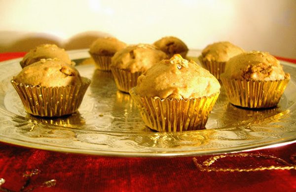 panettone cupcake