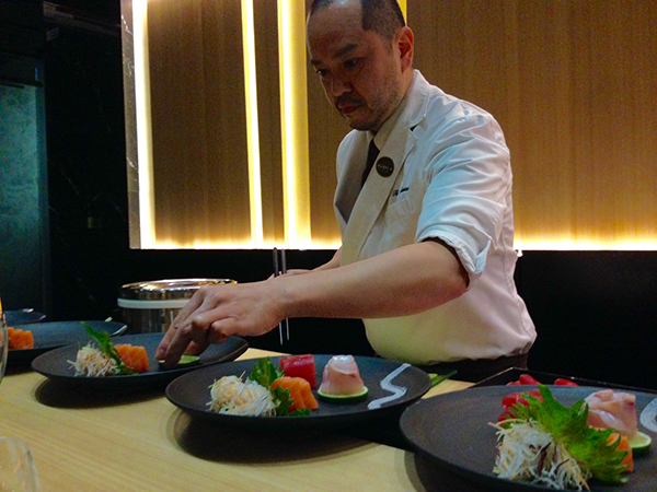 Sushi b preparazione
