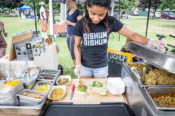 Toronto's Vegetarian Food Festival