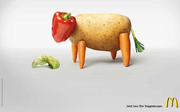 pubblicità vegana