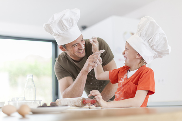 Cucinare con papà