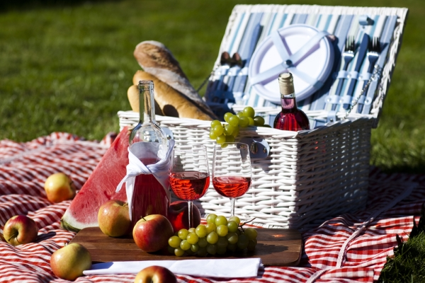 organizzare il cestino da picnic
