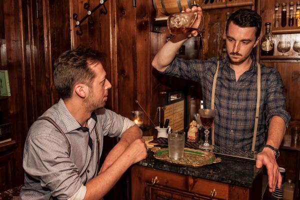bartender back door milano