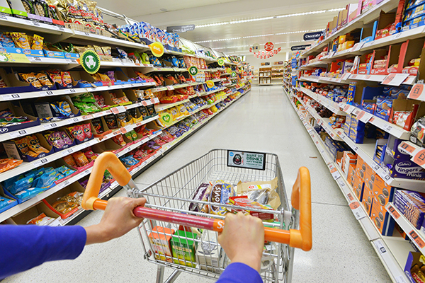 Carrello supermercato