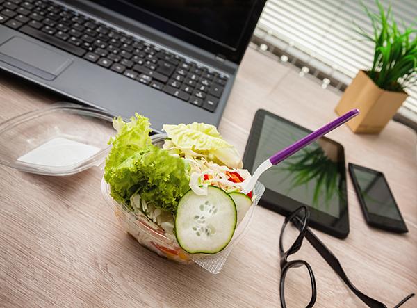 Mangiare a lavoro