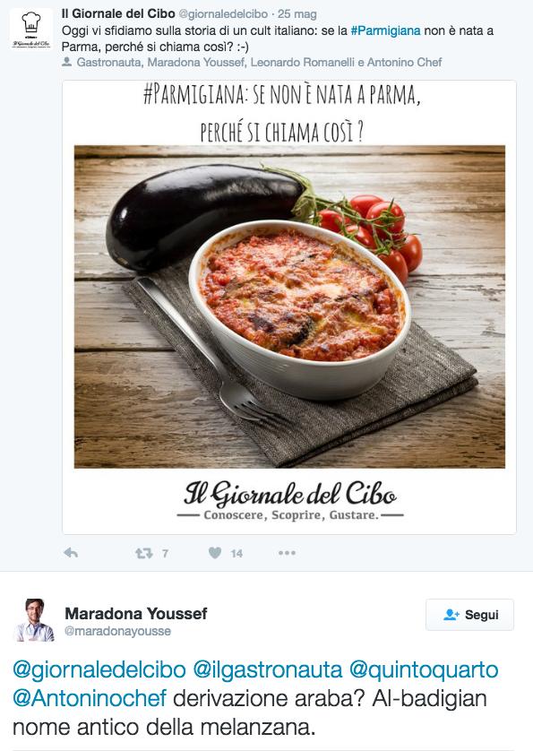 Parmigiana Twitter