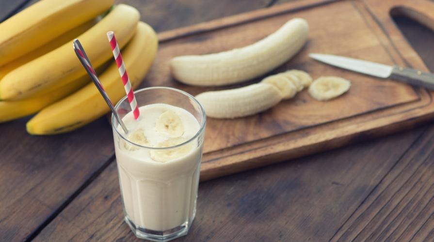 latte alla banana