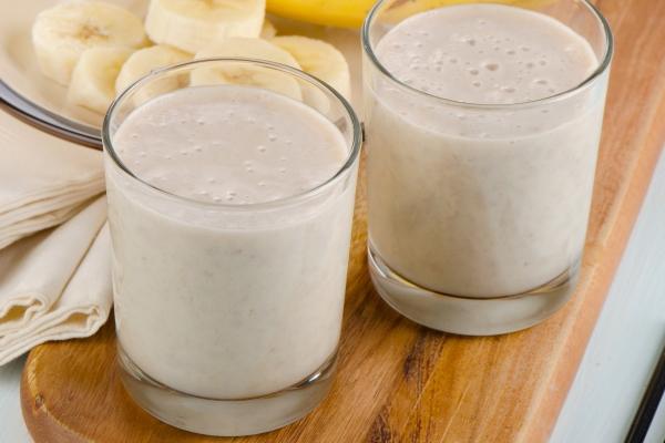 latte vegetale alla banana