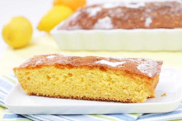 torta al limone senza uova